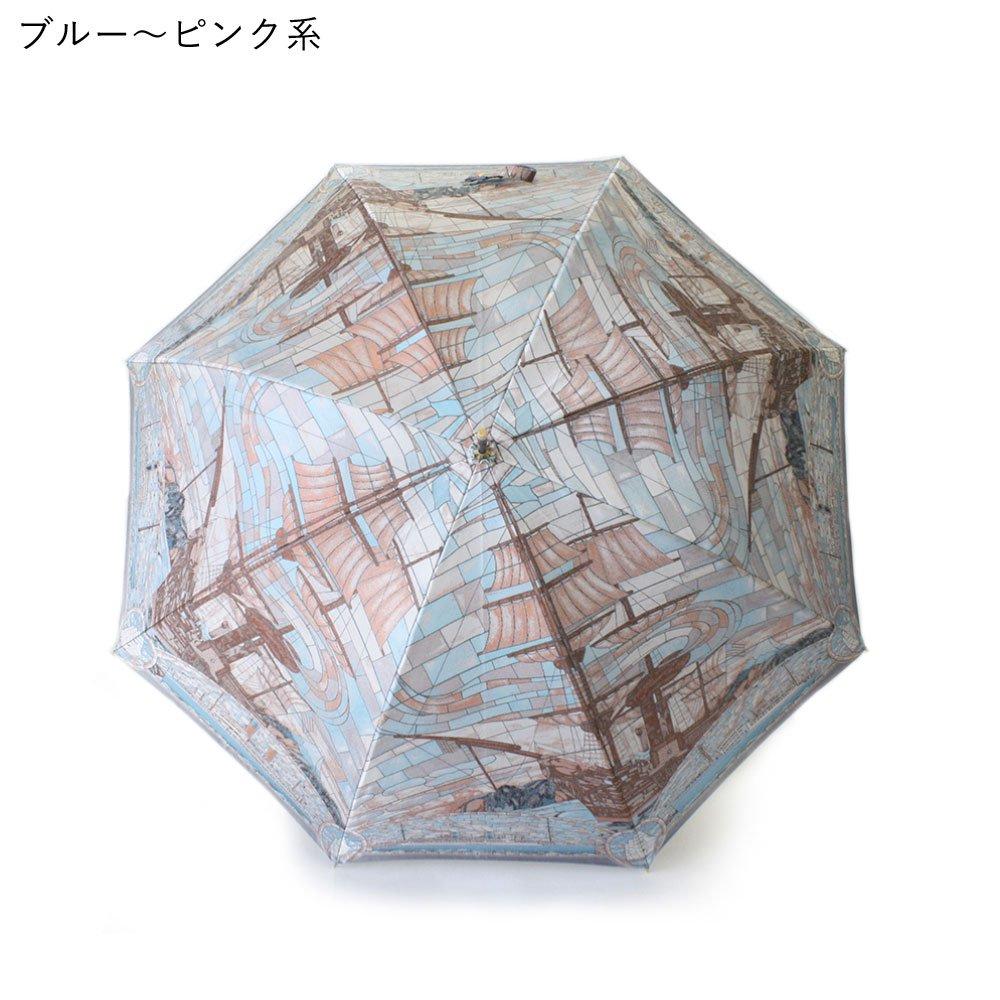 <img class='new_mark_img1' src='https://img.shop-pro.jp/img/new/icons1.gif' style='border:none;display:inline;margin:0px;padding:0px;width:auto;' />Umbrella of Yokohama 晴雨兼用傘 (ポーハタン号 小柄) 伝統横濱スカーフ 傘の画像1