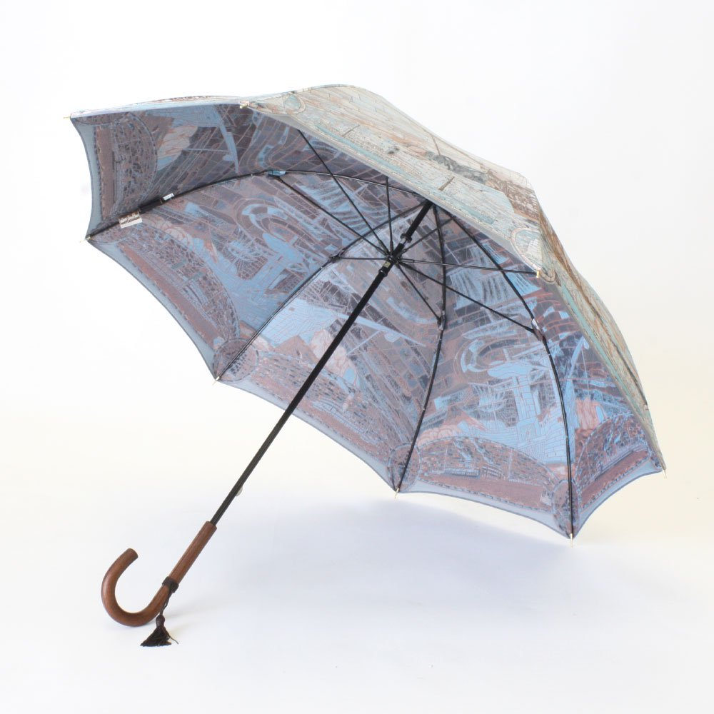 <img class='new_mark_img1' src='https://img.shop-pro.jp/img/new/icons1.gif' style='border:none;display:inline;margin:0px;padding:0px;width:auto;' />Umbrella of Yokohama 晴雨兼用傘 (ポーハタン号 小柄) 伝統横濱スカーフ 傘の画像3