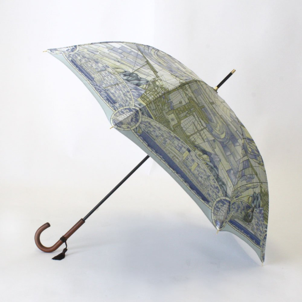 <img class='new_mark_img1' src='https://img.shop-pro.jp/img/new/icons1.gif' style='border:none;display:inline;margin:0px;padding:0px;width:auto;' />Umbrella of Yokohama 晴雨兼用傘 (ポーハタン号 小柄) 伝統横濱スカーフ 傘の画像6