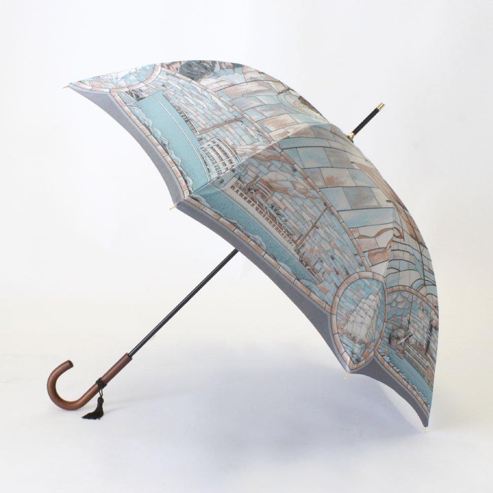 <img class='new_mark_img1' src='https://img.shop-pro.jp/img/new/icons1.gif' style='border:none;display:inline;margin:0px;padding:0px;width:auto;' />Umbrella of Yokohama 晴雨兼用傘 (ポーハタン号 大柄) 伝統横濱スカーフ 傘の画像2