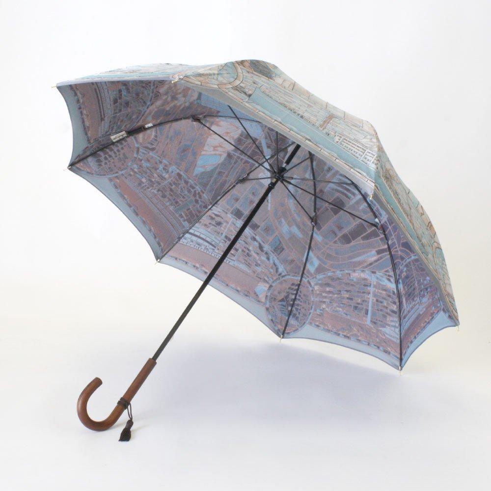 <img class='new_mark_img1' src='https://img.shop-pro.jp/img/new/icons1.gif' style='border:none;display:inline;margin:0px;padding:0px;width:auto;' />Umbrella of Yokohama 晴雨兼用傘 (ポーハタン号 大柄) 伝統横濱スカーフ 傘の画像3