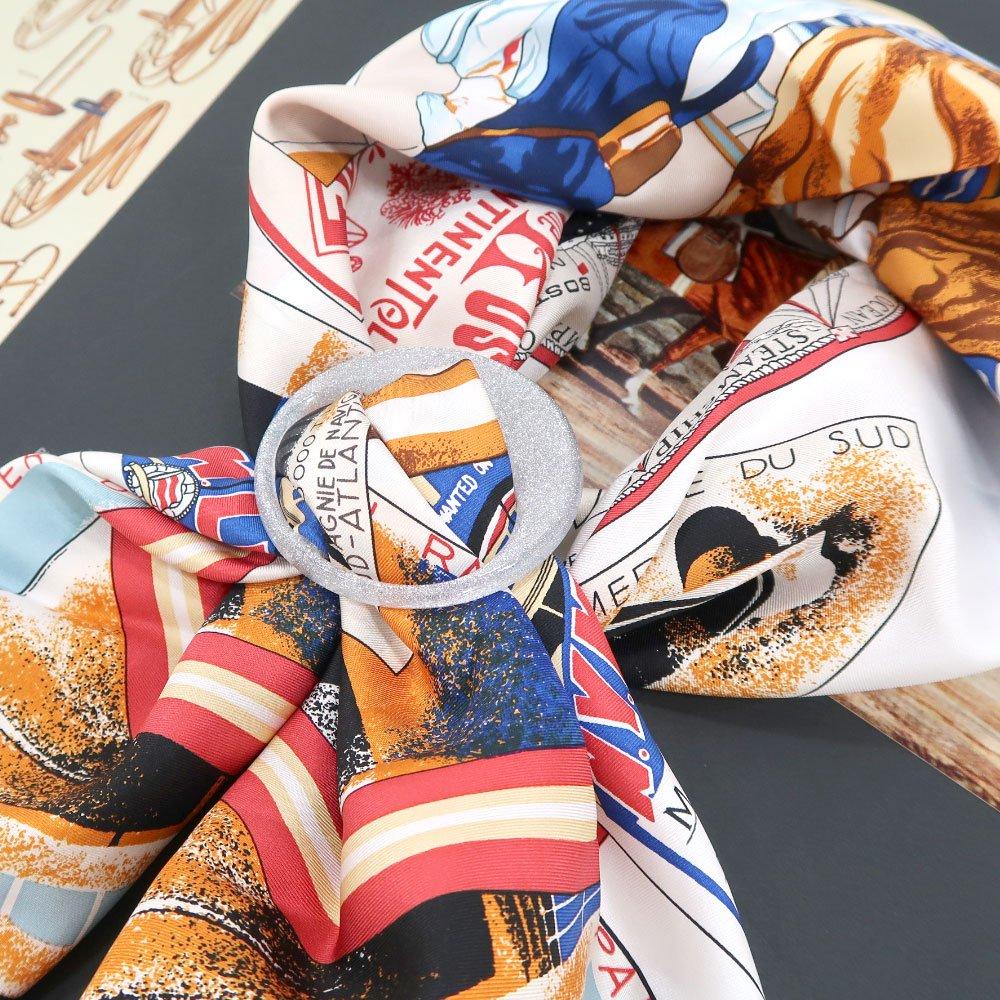 円型 スカーフリングの画像6