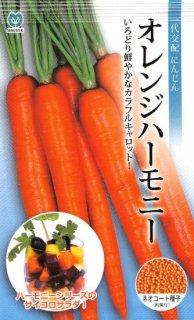 ニンジンの種【オレンジハーモニー】〔F1〕
