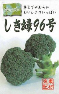 ブロッコリーの種【しき緑96号】〔F1〕