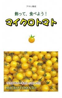 マイクロトマトの種(黄)〔固定種〕 ※無消毒