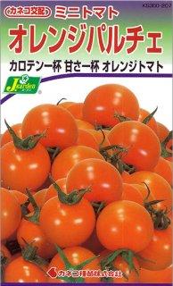 ミニトマトの種【オレンジパルチェ】〔F1〕※無消毒