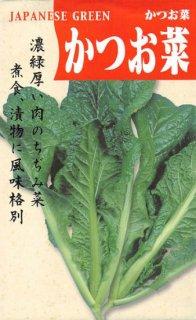 カツオナの種【かつお菜】〔固定種〕 ※無消毒