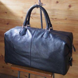 銀座・和光(WAKO)/ボストンバッグ/黒/レザー/レディース&メンズ兼用/鞄★N4963