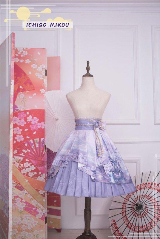 【取り寄せ】月見草 スカート【ichigomikou】