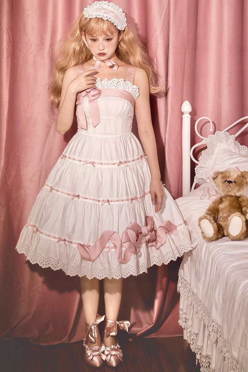 【2021年3月下旬発送予定】Good Night Baby♪プリンセスナイトウェア♪ジャンパースカート【Lullaby】