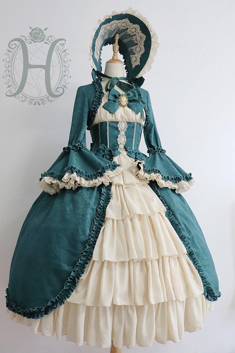 【取り寄せ】Victorian Dollワンピース (サイズカスタマイズ)【Henrietta】