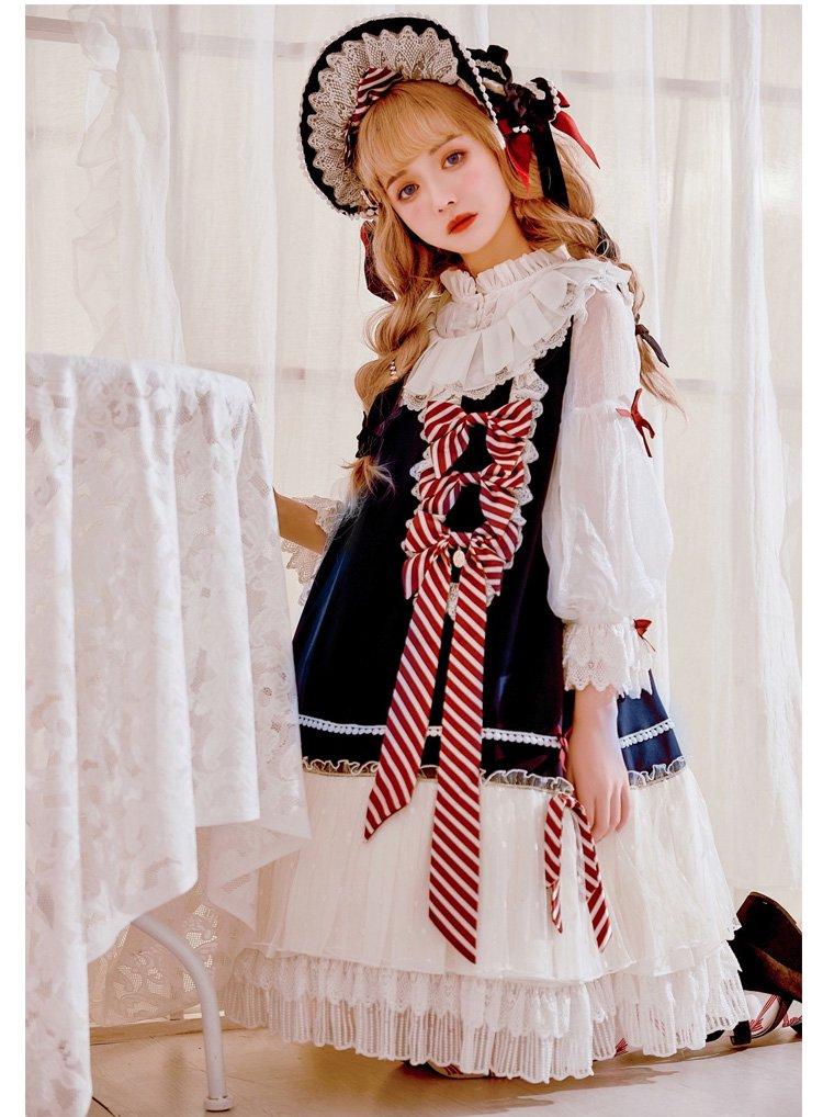 【即納】Parallel Doll ジャンパースカート・ヘッドドレスセット【Grove Deer】