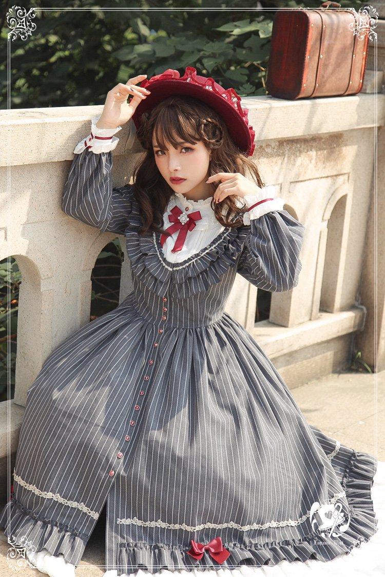 【即納】フィレンツェの旅人 ワンピース・帽子セット【Fantastic Wind】