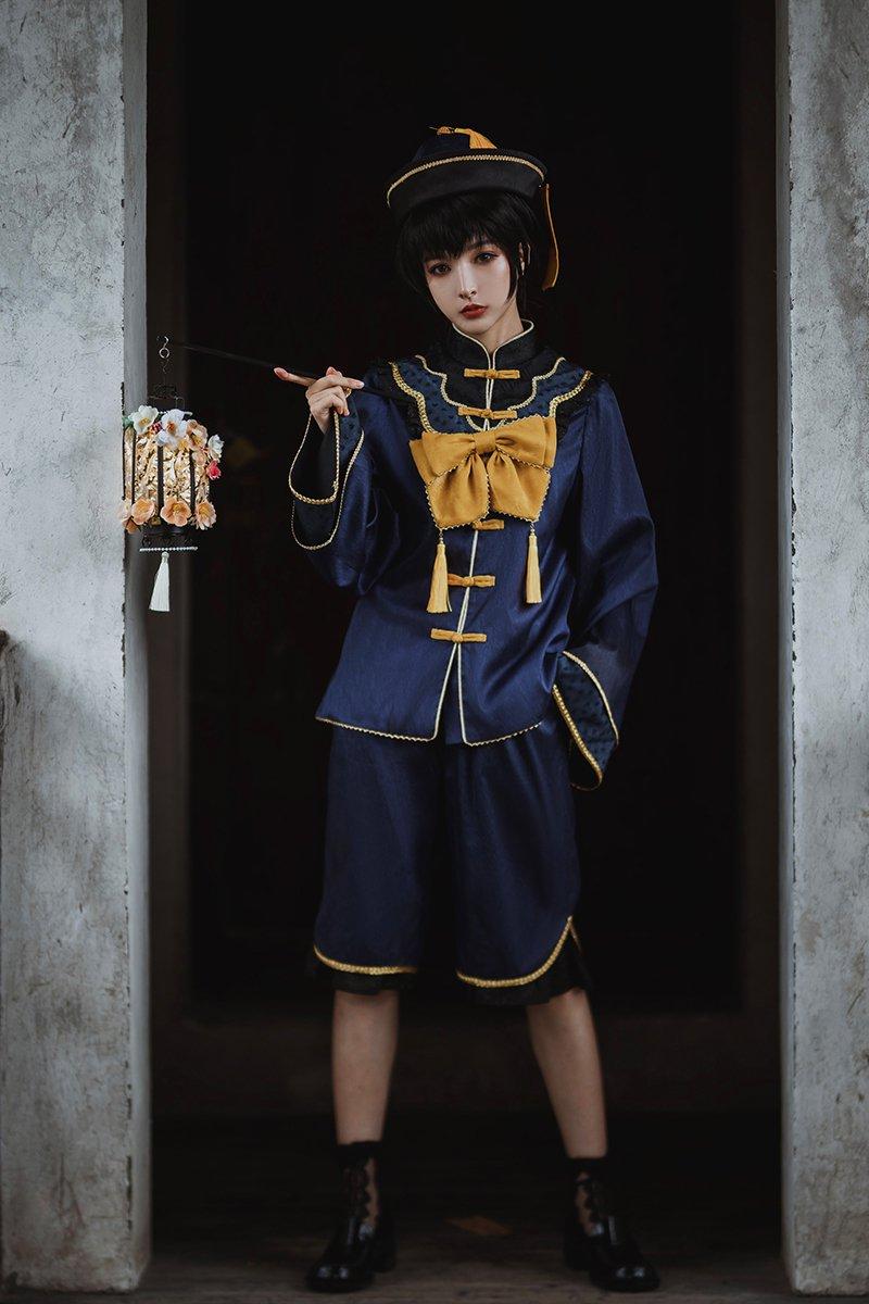 """【即納】""""三姉弟のキョンシー""""弟キョンシー お洋服+アクセサリー セット【U-utopia】"""