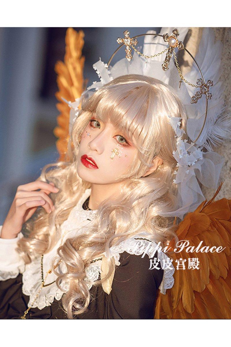 【即納】Cowherd Girl ロングカールウィッグ【Pippi Palace】