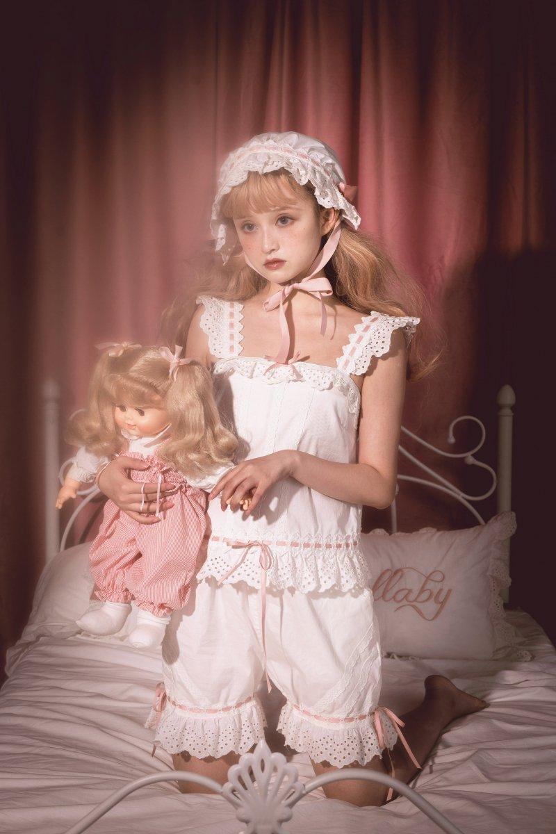 【即納】Good Night Baby♪プリンセスナイトウェア♪キャミソール・ドロワーズセット【Lullaby】