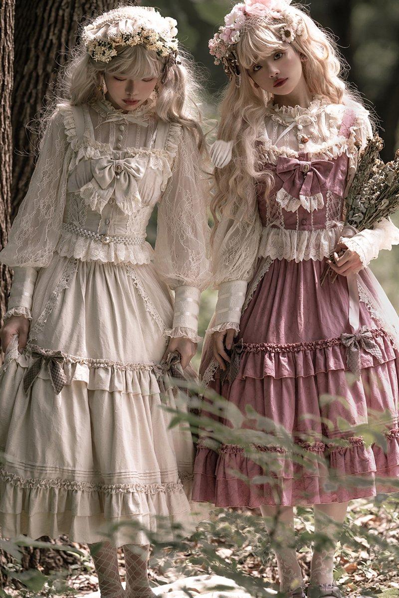 【即納】English Rose セットアップ【Moon River】