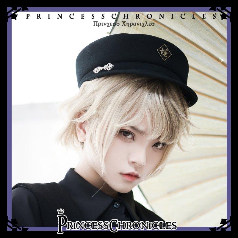 【即納】石榴 帽子【Princess Chronicles】