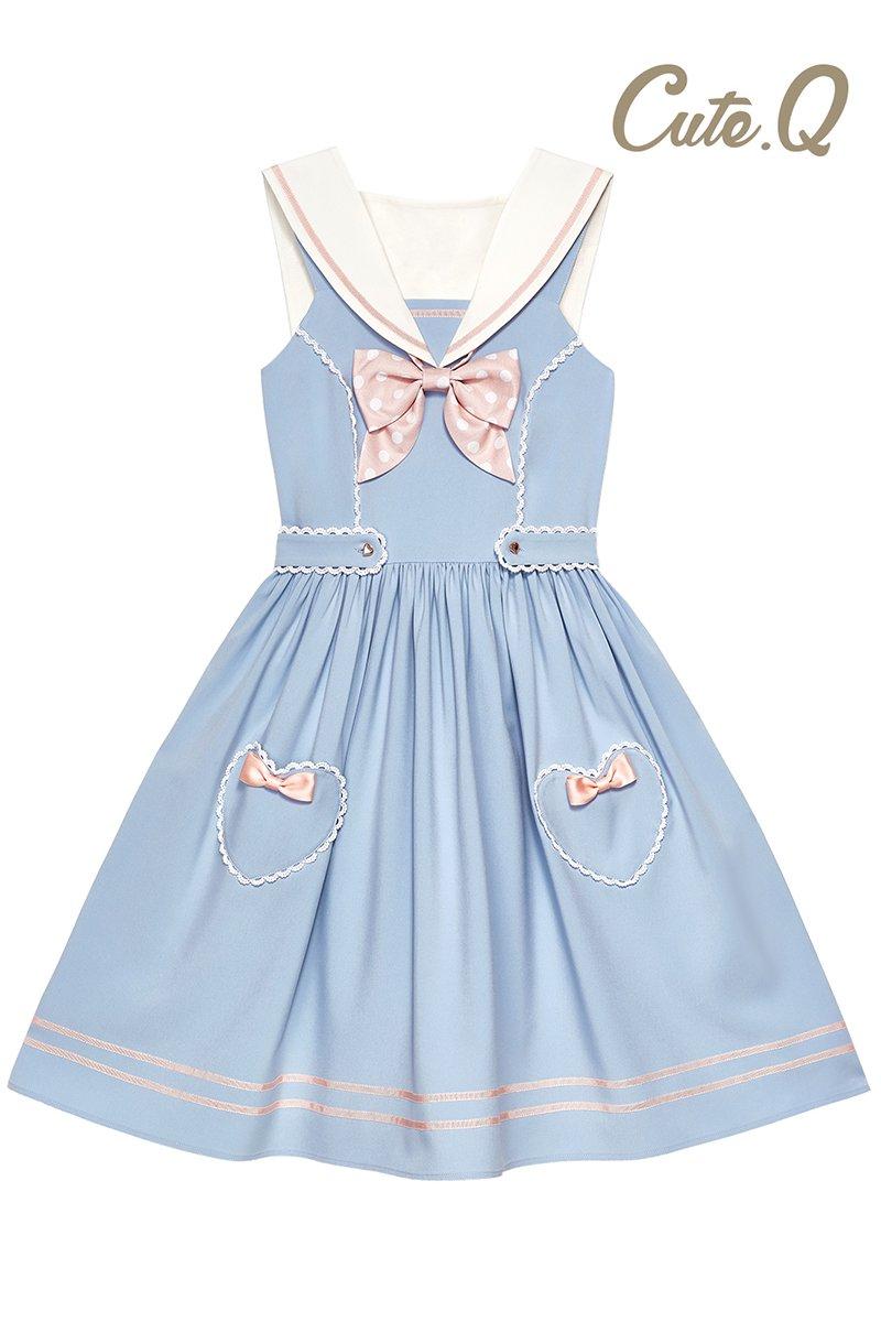 【取り寄せ】Marine ジャンパースカート【Cute.Q】