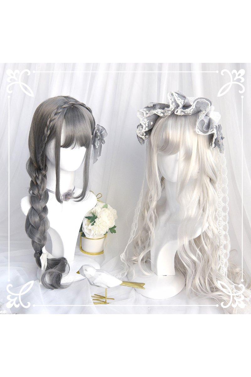 【即納】Silver Lady ロングウェーブウィッグ【SINWAVY】