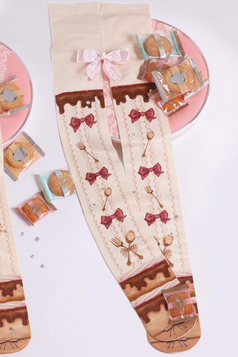 【即納】Sweety Chocolate タイツ【Lovely Lota】