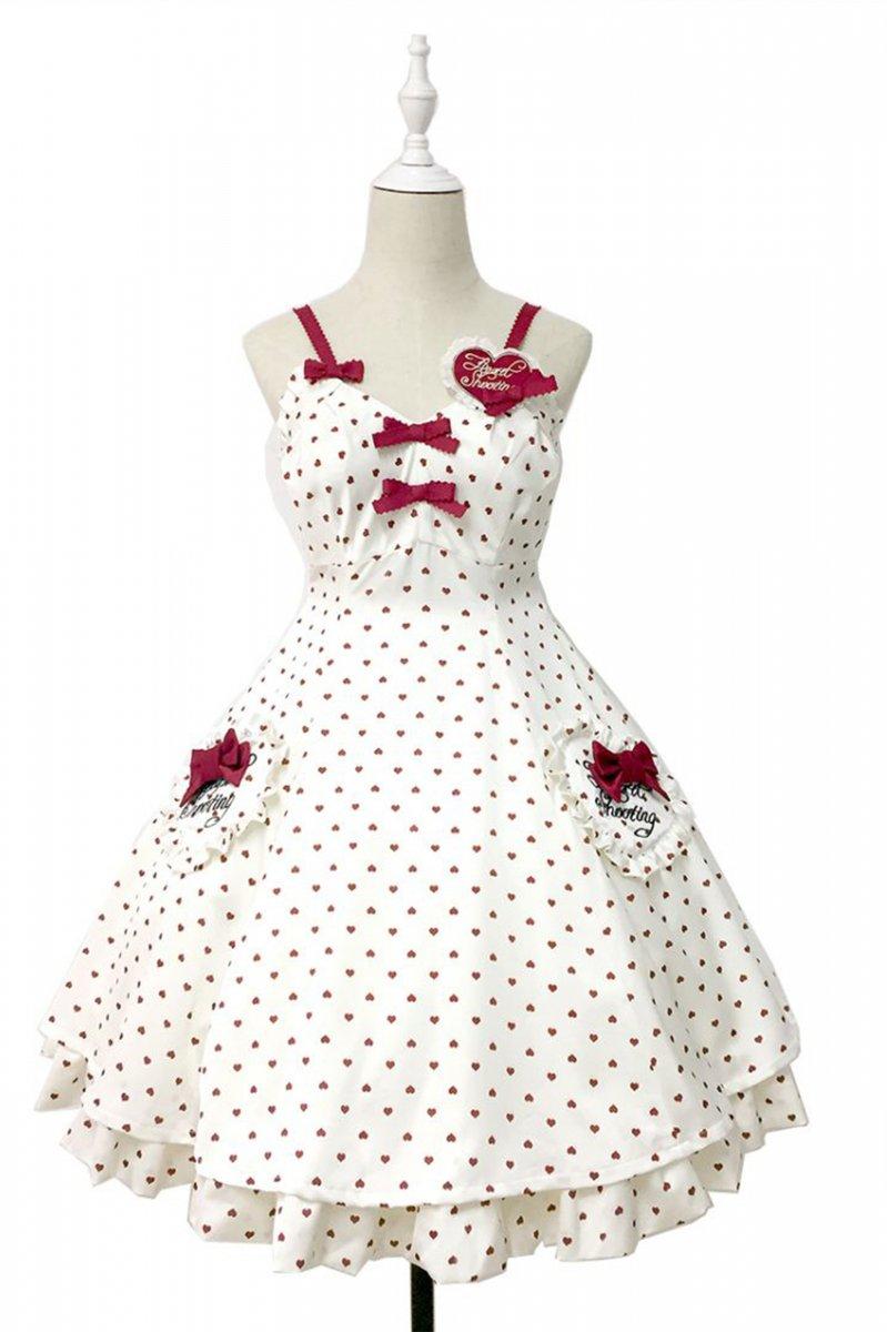 【取り寄せ】Heart Shooting ジャンパースカート【Lullaby】