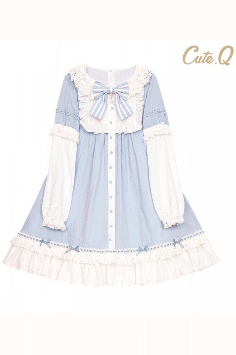 【取り寄せ】Alice's bedtime stories ワンピース【Cute.Q】