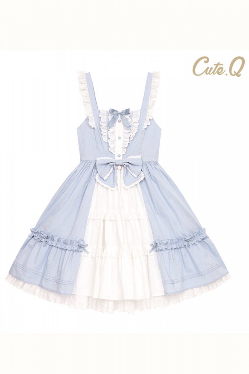【取り寄せ】Alice's bedtime stories ジャンパースカート【Cute.Q】