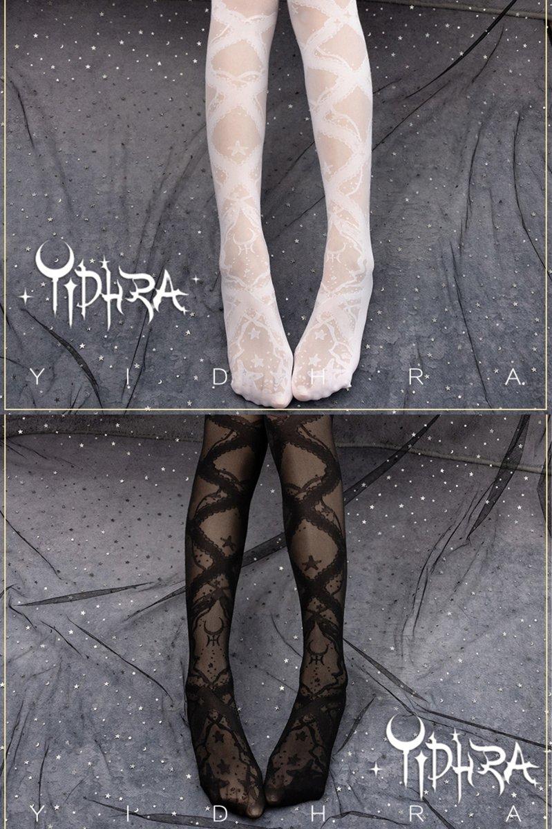 【即納】Starfish and Gravel パンストストッキング【Yidhra】