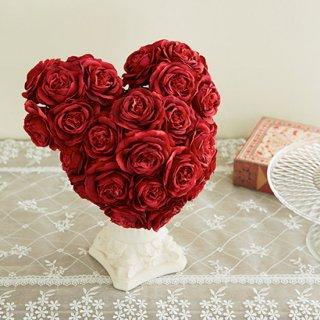 (プリザ)赤バラのキャラクターブーケ。