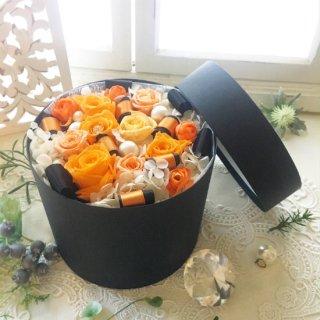 プリザーブドフラワーBOXアレンジ L