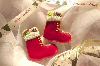 クリスマス(お菓子入りブーツ)