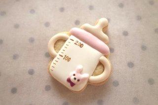 ご出産祝い(哺乳瓶:ピンク)
