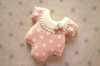 ご出産祝い(ベビー服:ピンク)
