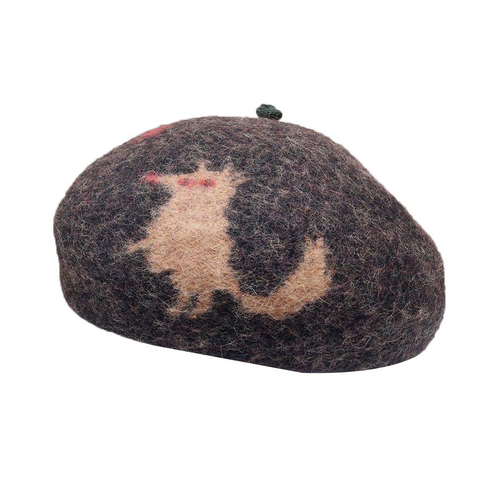 【tuduri】  ツヅリ Little red riding hood 赤ずきんのベレー 詳細画像
