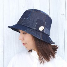 e-zoo(イーズー) DENIM DOCKING HAT