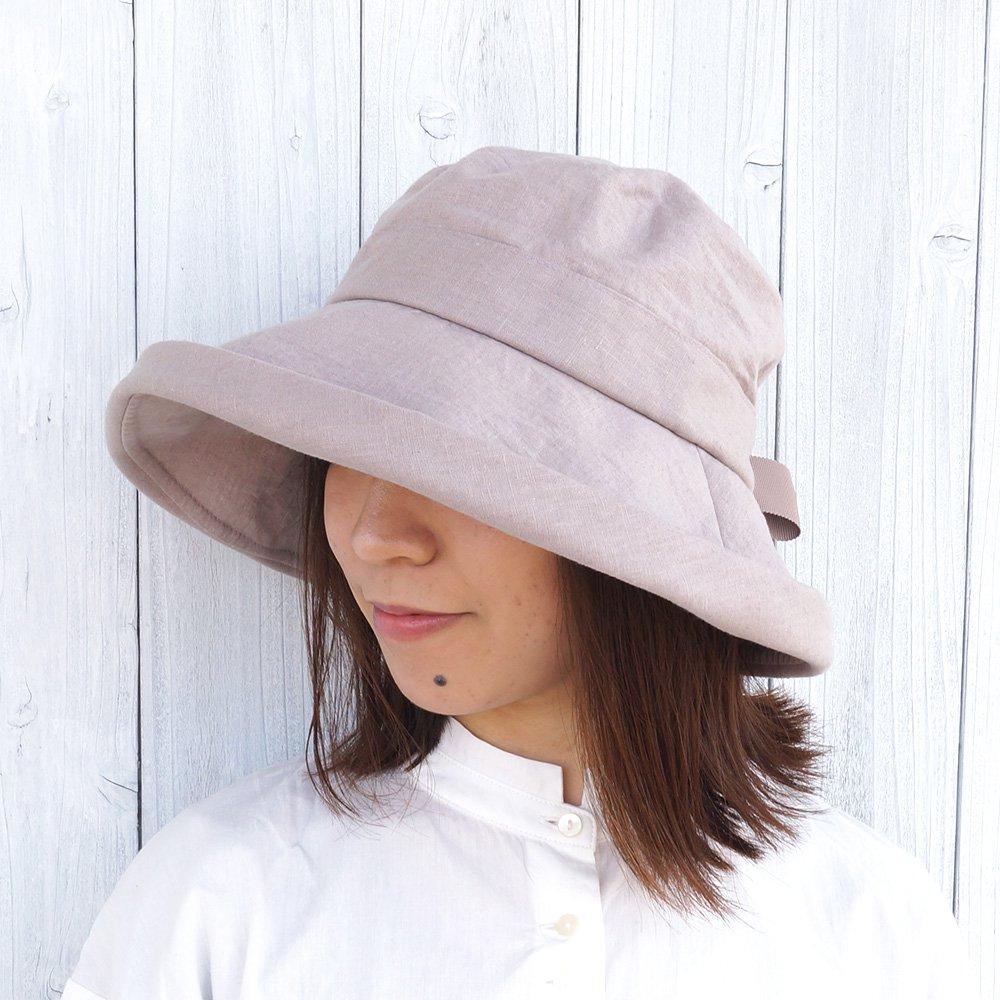 【鎌倉帽子屋】 リネンセーラーハット 詳細画像