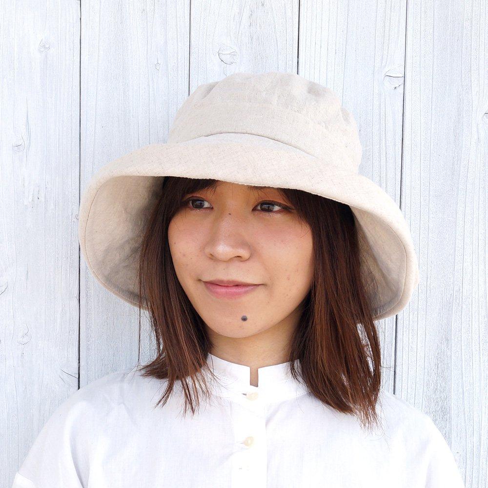【鎌倉帽子屋】 リネンセーラーハット 詳細画像10
