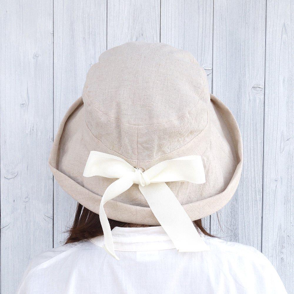 【鎌倉帽子屋】 リネンセーラーハット 詳細画像11