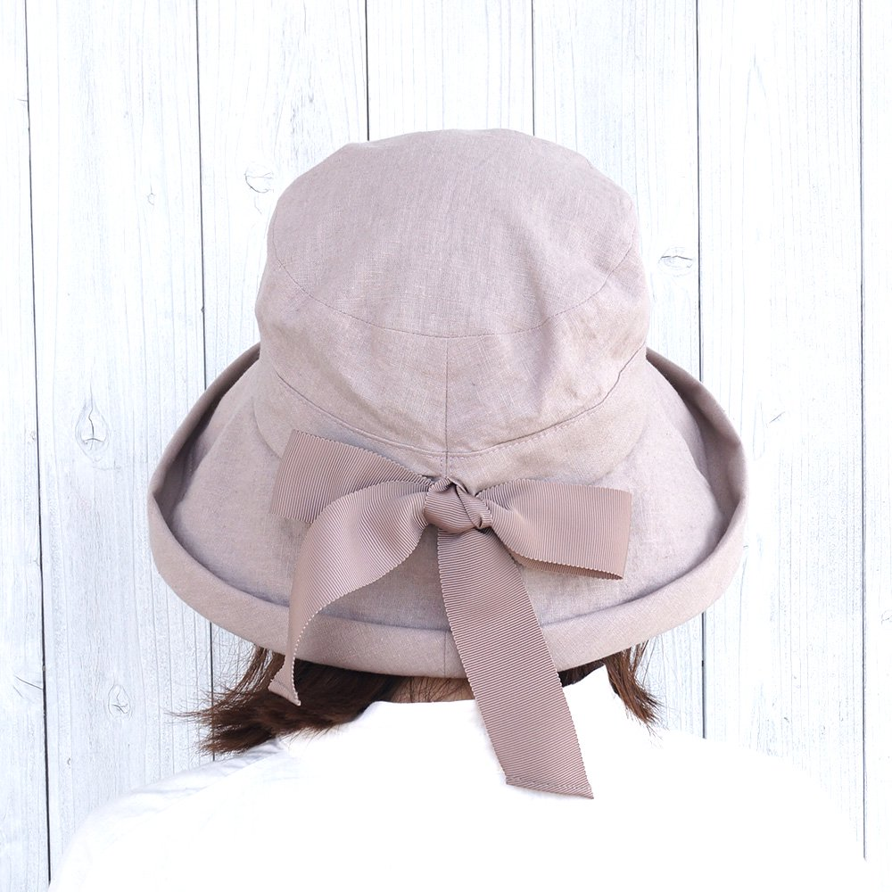 【鎌倉帽子屋】 リネンセーラーハット 詳細画像12