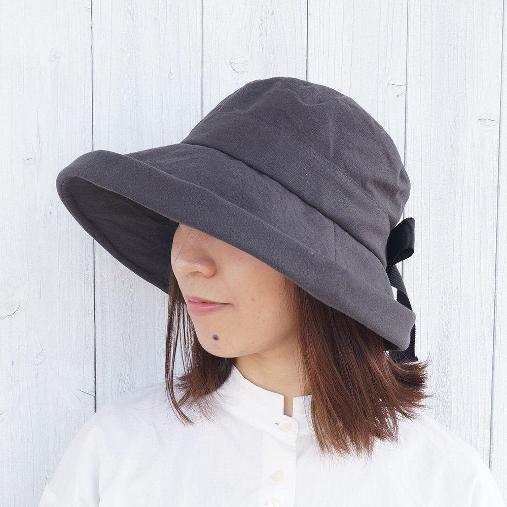 【鎌倉帽子屋】 リネンセーラーハット 詳細画像2
