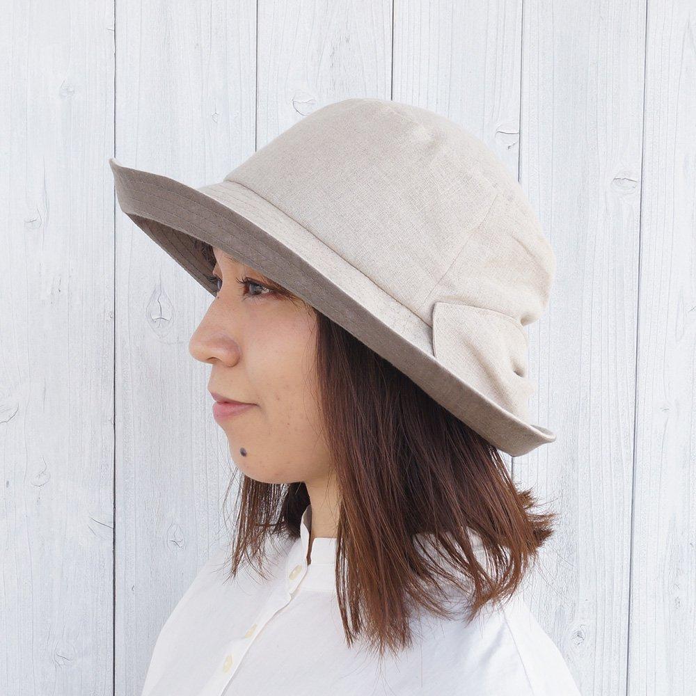 【鎌倉帽子屋】 リネンクロッシェ 詳細画像1