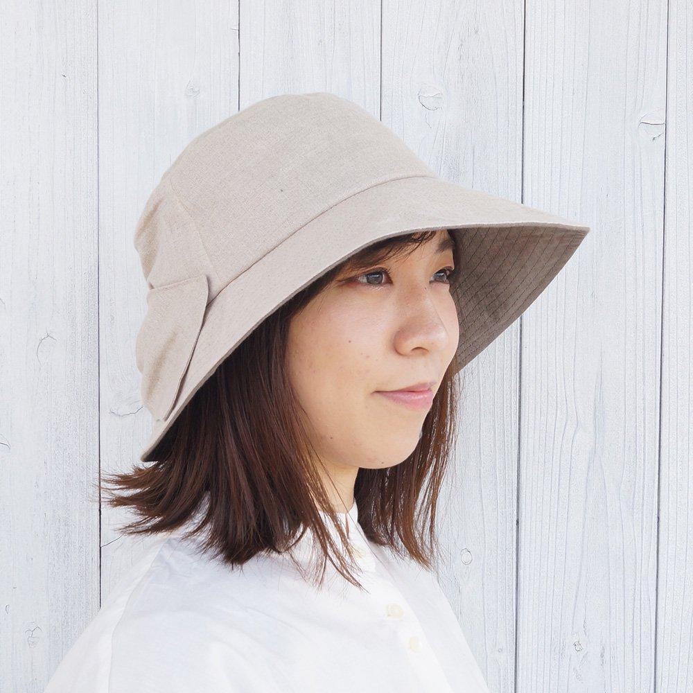 【鎌倉帽子屋】 リネンクロッシェ 詳細画像3