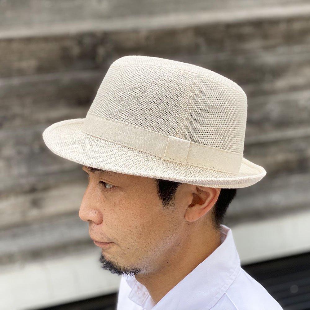 【鎌倉帽子屋】 麻アルペン/中折れハット 詳細画像12