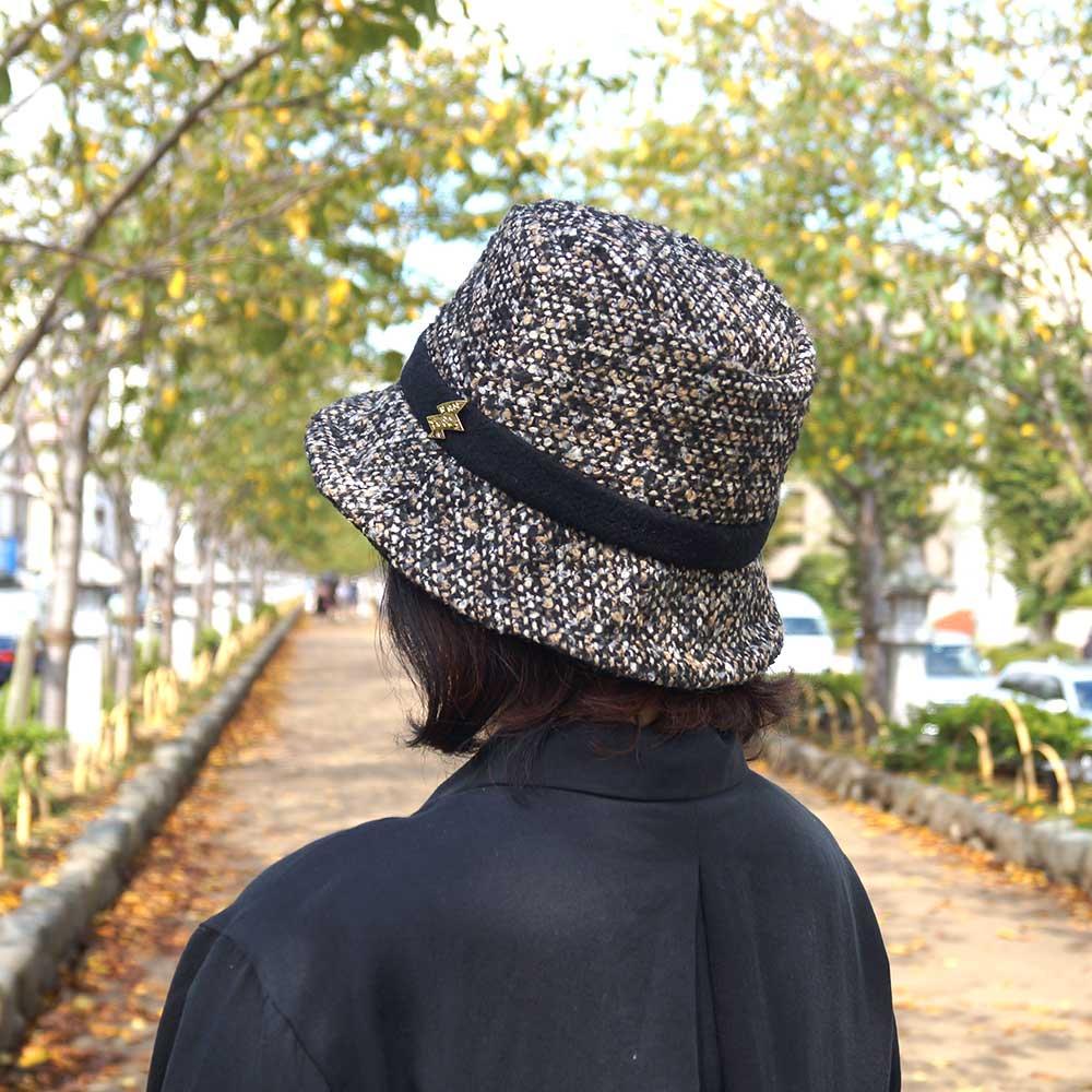 e-zoo(イーズー秋冬物) tweed handsome hat 詳細画像12