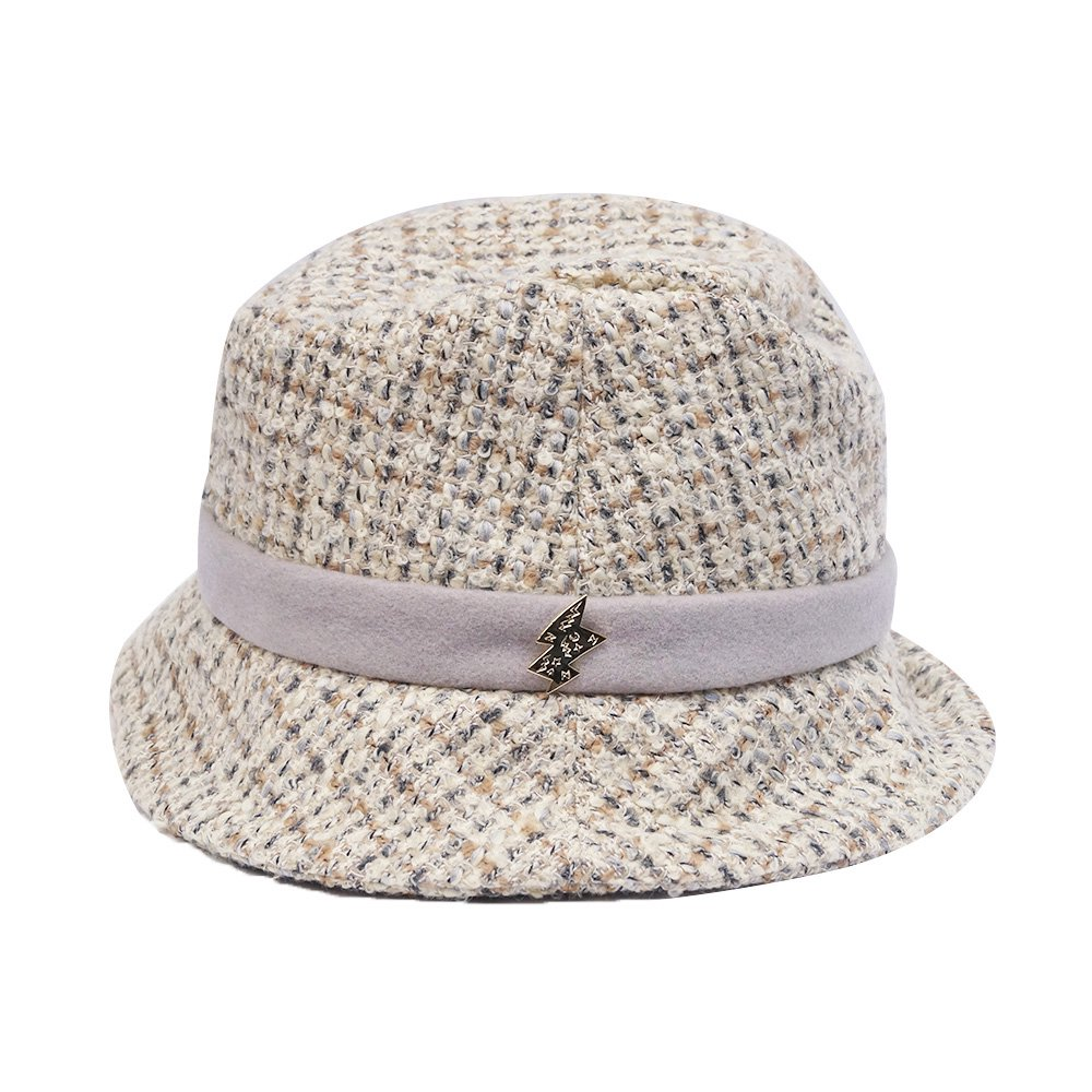 e-zoo(イーズー秋冬物) tweed handsome hat 詳細画像4