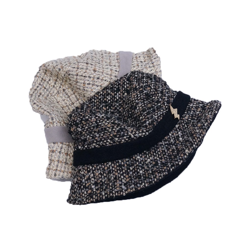 e-zoo(イーズー秋冬物) tweed handsome hat 詳細画像6
