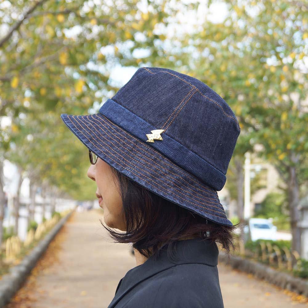 e-zoo(イーズー秋冬物) indigo handsome hat 詳細画像11