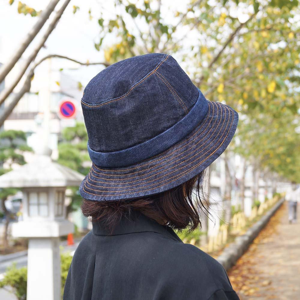 e-zoo(イーズー秋冬物) indigo handsome hat 詳細画像12