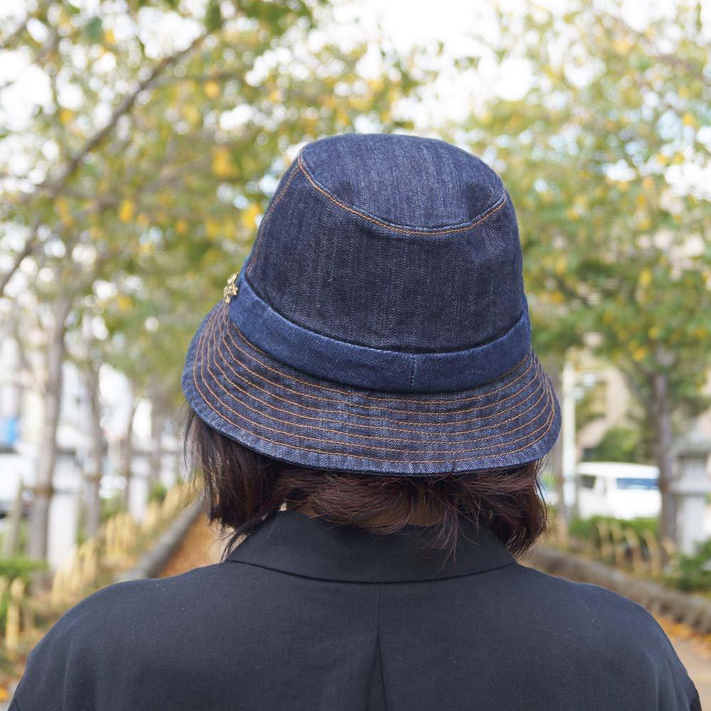 e-zoo(イーズー秋冬物) indigo handsome hat 詳細画像13